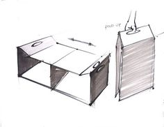 "Sustaining San Francisco: (Concept sketches)""Nest"" a sustainable shelter for homeless."