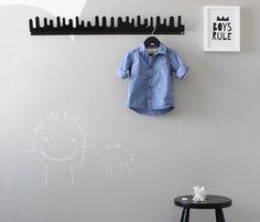Liitumaaliseinä lastenhuoneessa av designwash