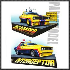 Mad Max - Big Bopper Paper Car Free Paper Model Download | PaperCraftSquare.com