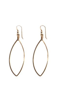 French wire earrings-I wear these all the time.  I have them in silver too.