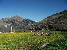 ボイの谷、タウールのサンクレメンテ教会(スペイン) Sant Climent de Taüll, Valley of Boí, spain #romanesque