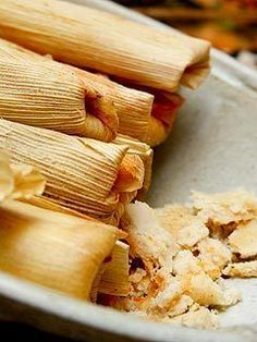 Latin Vegetarian Recipe of the Day: Squash, Black Bean and Goat Cheese Tamales   ¿Qué Más?