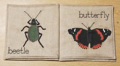 Insects Cloth Book BY VICTORIA VAN DER LAAN