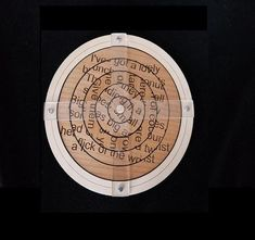 A fun and unusual way to relay a secret/hidden message to players in your Escape Room. The Scramble Spin Escape Room Puzzle/Prop utilizes rings which independently rotate around the center. A message