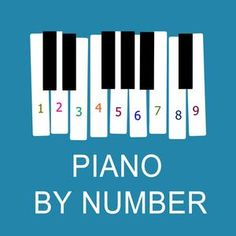 Begin playing piano with numbers instead of sheet music. It's a proven recipe for success for countless young students of the piano. Switch to sheet music when the child feels comfortable and confident with the geography of the piano. Piano Lessons, Music Lessons, Teach Yourself Piano, Best Digital Piano, Piano Games, Name That Tune, Kids Piano, Best Piano, Kalimba