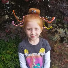 Crazy Hair Day Octopus by Secrets of a Supermom
