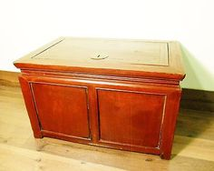 Antique Chinese Treasure Trunk (5784), Zelkova wood, Circa 1800-1849