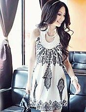 Women's Halter Floral Print Sleeveless Mini Dress