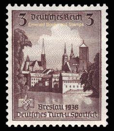 EBS-Germany-1938-Athletics-Championships-Breslau-MNH-Michel-665-668