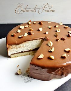 Praline recipes {Father's Day}: Once upon a time, pastry # Sweet Recipes, Cake Recipes, Dessert Recipes, Healthy Recipes, Praline Recipe, Beaux Desserts, Delicious Desserts, Yummy Food, Thermomix Desserts