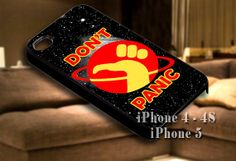Hitchhiker's Guide To The Galaxy (Don't Panic) for iPhone case-iPhone 4/4s/5/5s/5c case cover-Samsung Galaxy S3/S4/ case cover