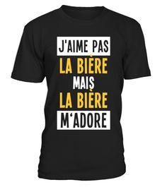 J'maime pas la bière  #gift #idea #shirt #image #animal #pet #dog #bestgift #cat #bichon #coffemugs #autism