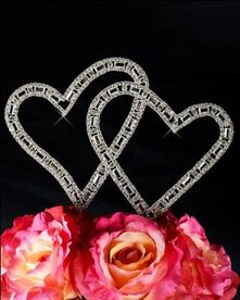 Unik Occasions - Timeless Collection Angled Double Heart