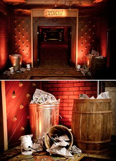 retirement_party_speakeasy_theme_trash_cans_bottles