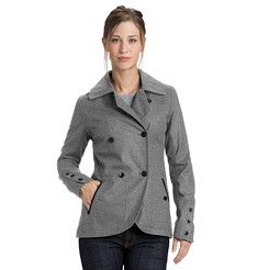 Good for London rain  Highline Blazer - Women's Waterproof Wool Coat - Nau.com