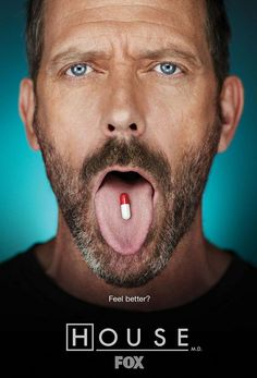 House, M.D. (FOX). I prefer the older episodes, but still currently enjoy the show. #tv #drama #fox