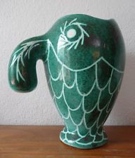 Magnifique Gros Pichet En céramique de Charles Voltz à  Vallauris  An 60's