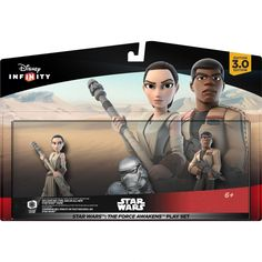 "Disney Infinity 3.0, ""Star Wars - Force Awakens"" Playset, GamePlay Character/Action Figure Set, for Major Gaming Platform"