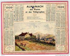 calendrier 1939
