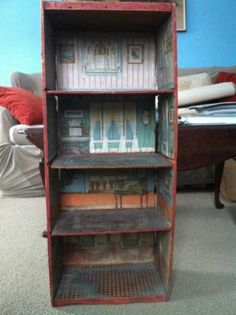 Dunham's Cocoanut Doll House 1890's Antique Advertising Crate Dollhouse Coconut | eBay