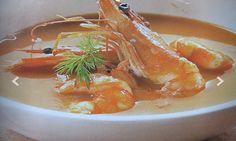 Receta => Sopa de pescado y marisco