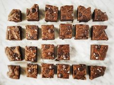 salted mexican hot chocolate brownies