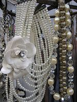 Old jewelry fascinates me. There are so many uses for items from the past.