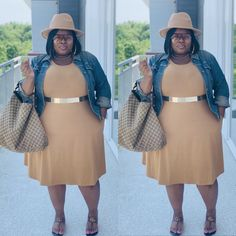 Thick Girls Outfits, Curvy Girl Outfits, Casual Dress Outfits, Plus Size Outfits, Cute Outfits, Curvy Women Fashion, Diva Fashion, Skirt Fashion, Apple Body Shape Outfits