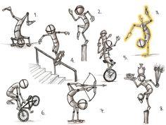 Balance Pose Study by Ambair on DeviantArt