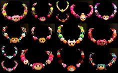 Lalaloopsy Necklaces $30.00    http://www.etsy.com/shop/GreenBrookeDesigns?section_id=11691776