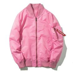 Bubble Gum Pink Bomber Jacket $39.50 10% off all orders with code SPRING at checkout.