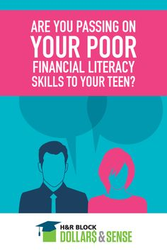 Are you passing on poor financial skills to your teen? Here are three easy ways to talk to your teens about money and make sure you're passing along the right information and skills when it comes to personal finance.
