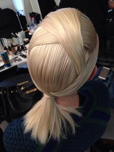Hairstyle: Edgy Ponytail