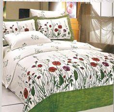 AlyShop: Lenjerie de pat din bumbac satinat Le Vele Exclusive - Garden