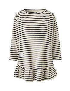 Bretagne Thilke l dream T-shirt Ecru/Navy