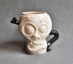 Zombie mugs are a joint project with Kachaktano handmade entirely of Korchev Design Studio! Face Mug, Pottery Mugs, Porcelain, Beer, Ceramics, Coffee, Tableware, Handmade, Etsy
