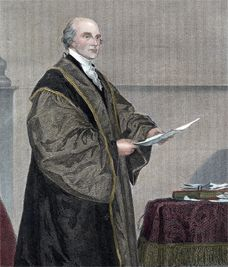 First Supreme Court Chief Justice John Jay  Founding Father John Jay (1745-1829) was appointed by President George Washington as the first Chief Justice of the United States Supreme Court. He also coauthored the federalist papers