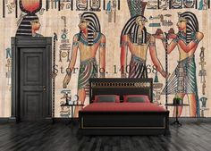 3D Wallpaper Bedroom Mural Roll Egyptian Egypt Ancient Picture Wall Background  #New