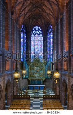 Liverpool Cathedral England
