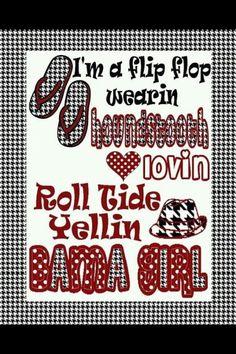 Roll Tide! for Brandy!