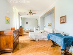 Master Bedroom - Villa Gallietta | Como #lakecomoville