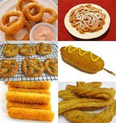 6 Gluten Free Fair Food Recipes: http://glutenfreerecipebox.com/gluten-free-fair-food-recipes/ #glutenfree