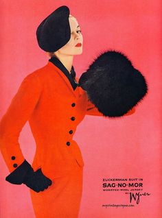 Vintage Ad...I would wear this (maybe not the hat)