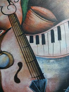"""Oil Painting """"Musical"""""""