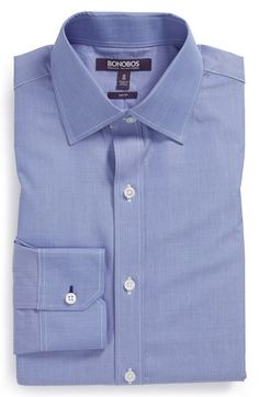 Bonobos 'The Americano' Slim Fit End-on-End Dress Shirt available at #Nordstrom
