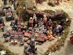 álbumes de fotos Christmas Village Display, Christmas Nativity Scene, Christmas Villages, Christmas Decorations, Nativity Scenes, Fontanini Nativity, Ceramic Houses, Church Crafts, Environmental Design
