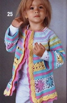 Discover thousands of images about Ravelry: Crochet Springtime Friends Hoodie pattern by Anji Beane Crochet Baby Jacket, Crochet Baby Sweaters, Crochet Coat, Crochet Cardigan Pattern, Baby Girl Crochet, Crochet Baby Clothes, Crochet For Kids, Baby Knitting Patterns, Crochet Patterns