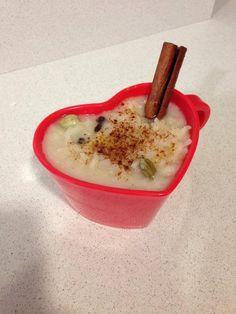 Arroz con leche de coco especiado en HazteVegetariano.com