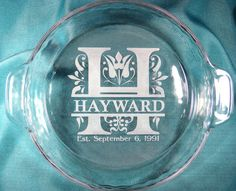 Baking Gifts Custom Pie Plate Custom Etched Pie Plate Personalized Pie Plate Etched Glass Pie Dish Baking Dish Kitchen Gift Idea | Pie plate ... & Baking Gifts Custom Pie Plate Custom Etched Pie Plate ...