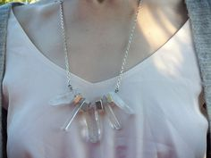 Love this crystal-and-bolts necklace